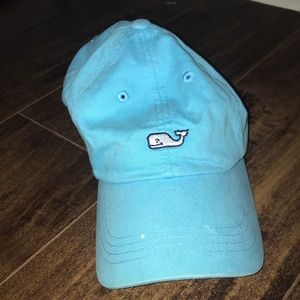 Bright blue vineyard vine baseball hat